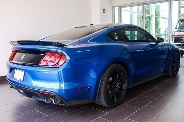 Lightning Blue Mustang >> 2018 Ford Mustang Shelby Gt350