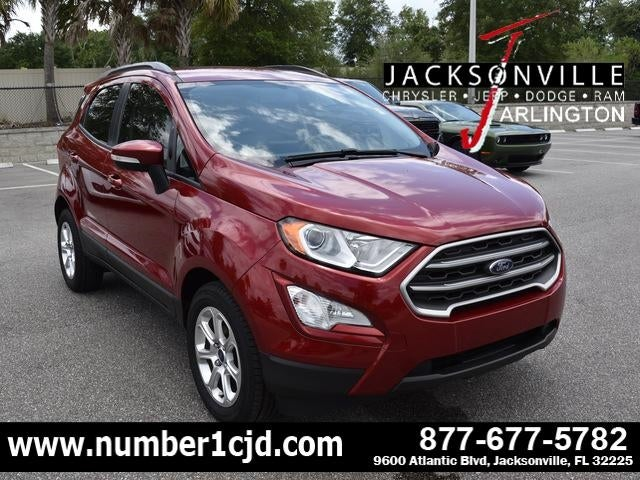 2018 Ford Ecosport Se Fwd Jacksonville Fl Serving Gainesville St