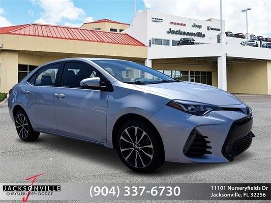 Toyota Jacksonville Fl >> 2017 Toyota Corolla Xle